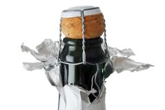 Cortiça de Champagne Imagens de Stock Royalty Free