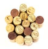 Cortiça do vinho francês Imagem de Stock