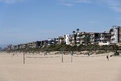 Corti di beach volley immagine stock libera da diritti