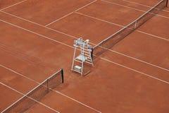 Corti di tennis vuote fotografia stock libera da diritti