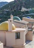 从Cortijo卡布雷拉的看法往地中海 免版税库存照片