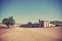 Cortijo del Fraile, farmhouse Royalty Free Stock Photo