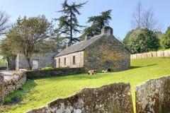 Cortijo en el parque popular de Bunratty - Irlanda. Fotos de archivo libres de regalías