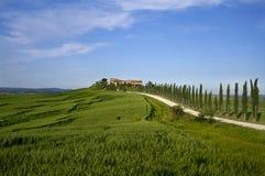 Cortijo en Toscana Imágenes de archivo libres de regalías