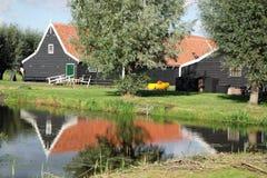 Cortijo en Zaanse Schans Holanda Imagen de archivo libre de regalías