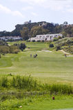 Cortijo Grande Golf Course near Mojacar Stock Photography