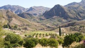 Cortijo Grande Golf Course near Mojacar Stock Photos