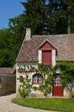 Cortijo idílico en Francia imagen de archivo