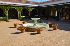 Cortijo intérieur d'Andalou de patio Photos libres de droits