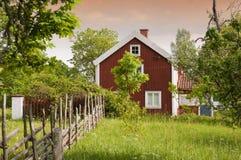 Cortijo sueco viejo Fotografía de archivo libre de regalías