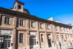 Cortile of abbeveratoio, La Venaria Reale, Italia Royalty Free Stock Photos