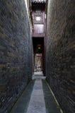 Cortile cinese antico fotografia stock