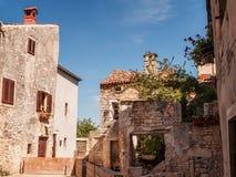 Cortile, Croazia Fotografie Stock