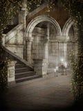 Cortile del castello Fotografia Stock Libera da Diritti