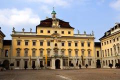 Cortile del castello di Ludwigshafen Fotografie Stock