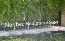 Cortile del centro della scultura di Nasher Immagine Stock Libera da Diritti