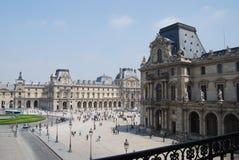 Cortile del Louvre Fotografia Stock