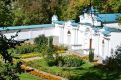 Cortile del monastero Immagine Stock Libera da Diritti