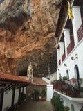 Cortile del monastero di Elona fotografia stock