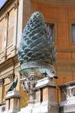 Cortile del museo del Vaticano immagine stock