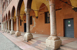 Cortile del Tribunale, Verona, Italy Royalty Free Stock Photos