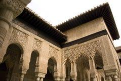 Cortile dell'interiore di Alhambra Immagine Stock Libera da Diritti