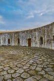 Cortile della fortezza Immagine Stock