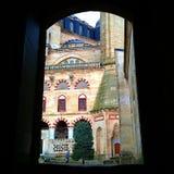 Cortile della moschea Fotografie Stock