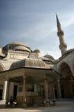 Cortile della moschea di Sehzade (principe) Fotografia Stock Libera da Diritti