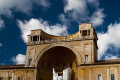 Cortile della Pigna royalty free stock photography