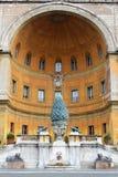 Cortile della Pigna 免版税图库摄影