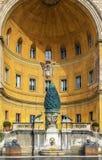 Cortile della Pigna, Vatican Royalty Free Stock Image