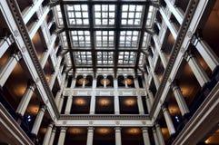 Cortile des historischen Gebäudes in Saint Paul Stockfotografie