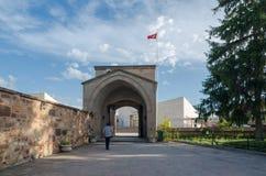 Cortile di Haji Bektash Veli Museum Immagine Stock