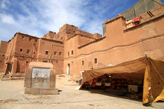 Cortile di Kasbah Immagine Stock