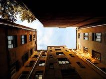 Cortile di Pietroburgo Fotografia Stock