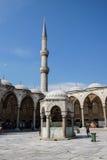 Cortile di Sultan Ahmet Camii Immagini Stock Libere da Diritti