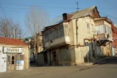 Cortile di Tbilisi vecchio Fotografia Stock Libera da Diritti