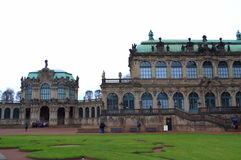 Cortile Dresda del palazzo di Zwinger Fotografia Stock Libera da Diritti
