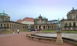 Cortile Dresda del palazzo di Zwinger Fotografia Stock