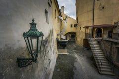 Cortile nel castello di Praga Fotografia Stock