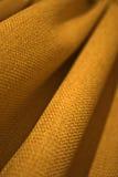 Cortina amarilla Foto de archivo libre de regalías