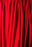 Cortina clásica del teatro Imagen de archivo libre de regalías