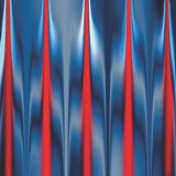 Cortina colorida de la etapa que tiene diseño generado por ordenador de la imagen de fondo del efecto luminoso stock de ilustración