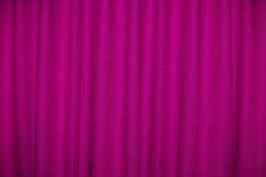 Cortina cor-de-rosa Foto de Stock