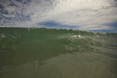 Cortina curruscante 2 Foto de archivo