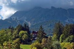 Cortina d'Ampezzo, Италия Стоковая Фотография RF