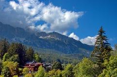 Cortina d'Ampezzo, Италия Стоковые Изображения RF