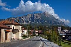Cortina d'Ampezzo, Италия Стоковое фото RF