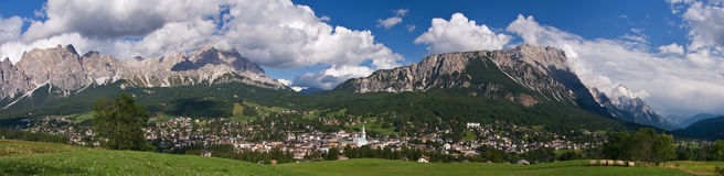 Cortina d'Ampezzo Stock Image